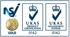 DCA NSI Gold and ISO 9001 Accreditation