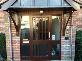 Park View Court Door Entry